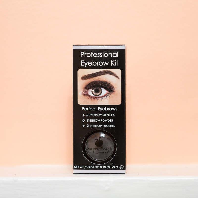 Sweet Peach Wax Eyebrow Kit